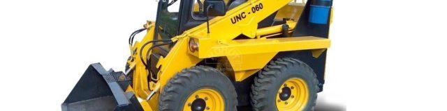 UNC 060 smykový nakladač