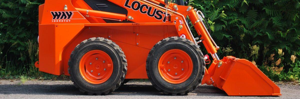 Srovnání nakladačů Locust L752 vs. Bobcat