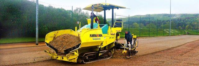 Finišery Ammann jsou kompaktní, produktivní a spolehlivé