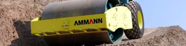 Válce Ammann pracující ve vysokonadmořských polohách