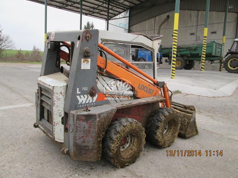Nakladač Locust 752 r.v.2005