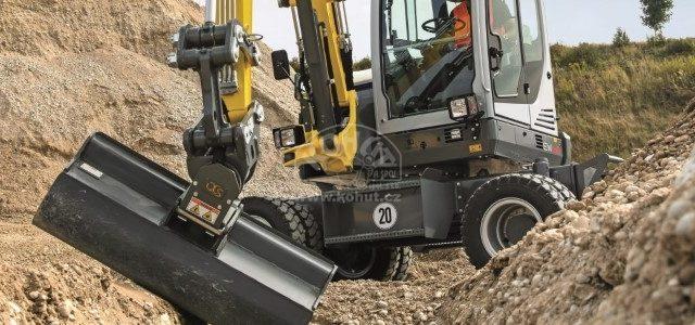 Nová rýpadla Wacker Neuson o hmotnosti 6 až 10 tun