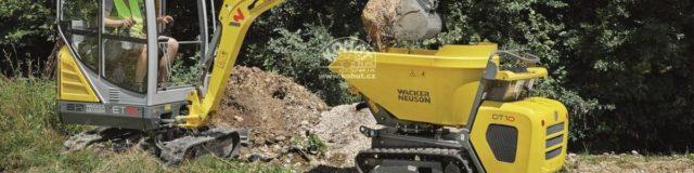 Bagr ET16 nahrazuje model WN1404