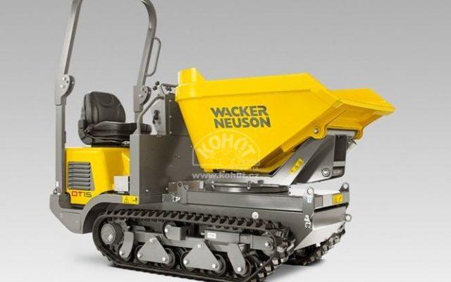 Minidumper pásový Wacker Neuson DT 15