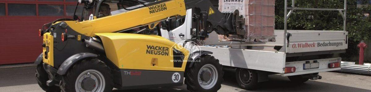 Kompaktní teleskopické nakladače Wacker Neuson