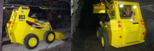 Nakladač Locust v provedení Tunnel