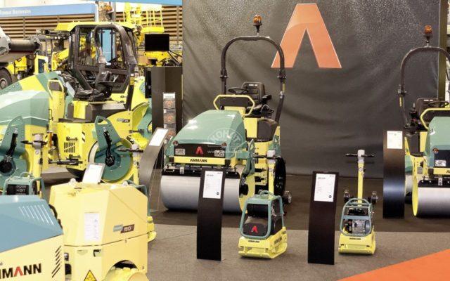 Novinky společnosti Ammann na veletrhu Intermat 2012