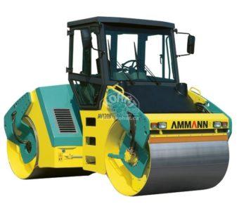 Vibrační válec tandemový AMMANN AV 120 X