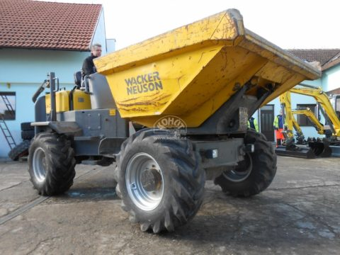 Kolový dumper 6001 Wacker Neuson bazar
