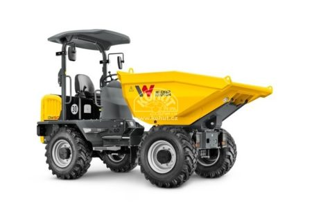 Kolový minidumper DW50 Wacker Neuson