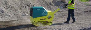 Přednosti plně hydraulických vibračních desek Ammann