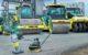 Kompletní řada strojů pro stavbu silnic