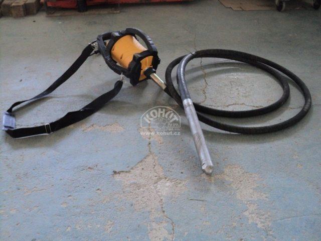Ponorný vibrátor do betonu