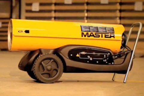 Naftové topidlo Master B 180 bazar
