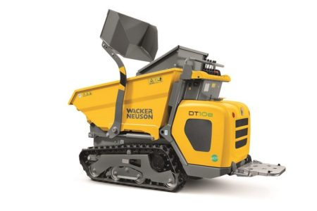 DT10e minidumper Wacker Neuson