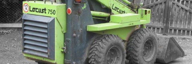 Locust 750 smykový nakladač