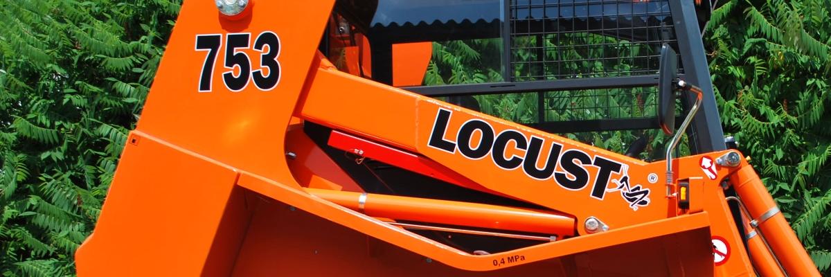 Jednorychlostní nakladač Locust 753