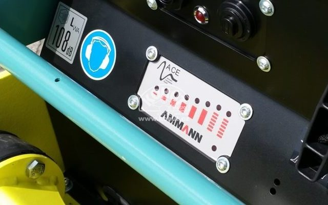 Ammann rozšířil využití měřiče zhutnění ACEecon