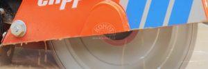 VIDEO: Řezač spár CS451 v akci