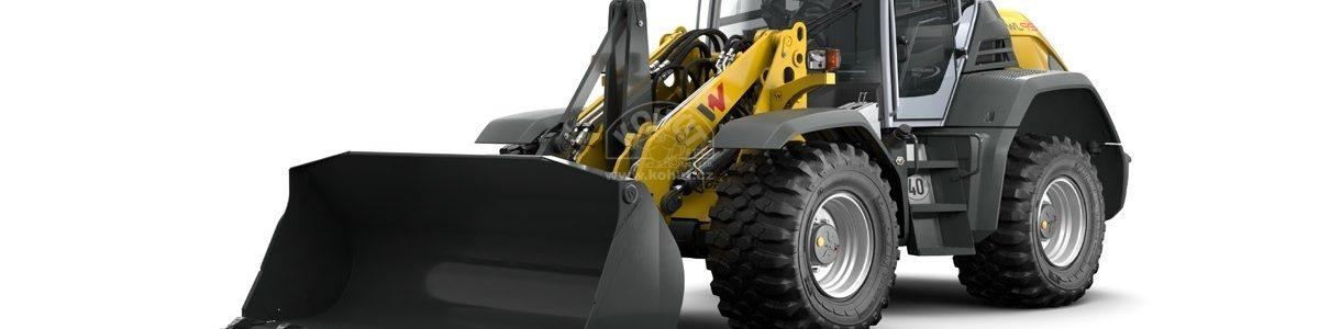 Nakladač WL95 - Produktivita XXL