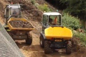 VIDEO závod dumperů Wacker Neuson