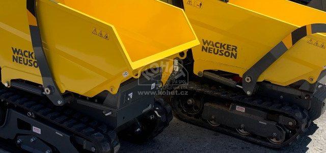 Další pásové dumpery pro půjčovnu strojů