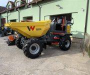 Kolový dumper DW60 Wacker Neuson