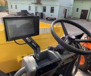 Kolový dumper DW60 – displej kamery