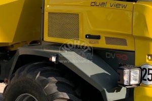 DV90 poskytuje jasný výhled v každém směru