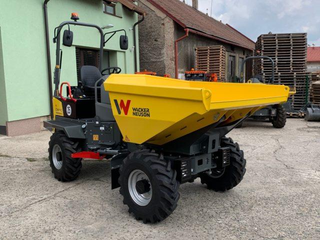 Kolový dumper DW40 Wacker Neuson