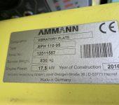 Použitá vibrační deska APH110-95