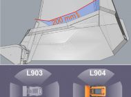 Porovnání výhledu – L904 vs. L903